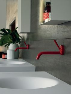 Zucchetti faucet - really like these. Kids bunk bathroom?