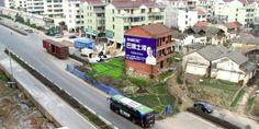 Les étonnantes «maisons à ongles» de la Chine