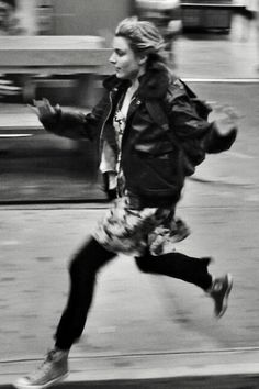 Frances Ha. Loved this scene with her dancing through the streets of NYC to Bowie's Modern Love. So uplifting.