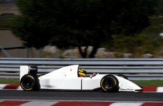Ayrton Senna: Testing the McLaren Lamborghini V12 1993