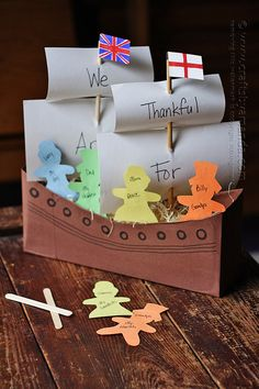 Cereal Box Mayflower by @amandaformaro Crafts by Amanda