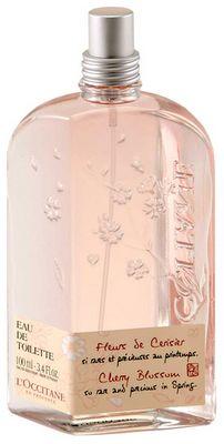 Best for summer. Flor de Cerejeira, Cherry Blossom, Fleurs de Cerisier - L'Occitane. My favorite.