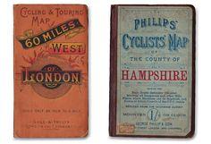 vintage map books