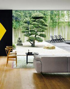 Marc Meiré home Front Courtyard, Interior And Exterior, Interior, Minimalist Garden, Home, Outdoor Spaces, Japanese Garden Design, Residential Design, Residential Interior