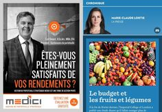 Le budget des fruits et légumes