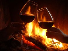 A romantic evening in front of the fire with a good glass of wine and good music. White Wine, Red Wine, Direct Cellars, Types Of Wine, Romantic Evening, Enchanted Evening, Romantic Getaway, In Vino Veritas, Smirnoff