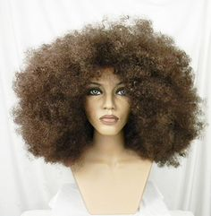 Huge, Afro Wig, Blonde, Black, Red, Auburn