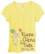 Kappa Alpha Theta, ~simple and pretty~ :)