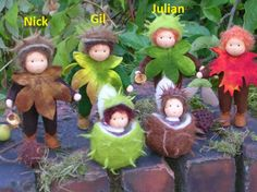 Clay Baby, Felt Baby, Felted Wool Crafts, Felt Crafts, Nuno Felting, Needle Felting, Dolly Doll, Elves And Fairies, Nature Table