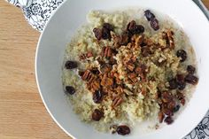 For the Love of Food: Breakfast Quinoa