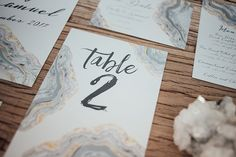 Crystal Agate Geode Silver Grey Winter Wedding Inspiration, Invites and Stationery