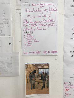 *inschrijven voor het bezoek aan compaan ,  *inschrijven voor ons weekend opstand,  *tentoonstellingen afbouwen,  *model,  vind je allemaal terug:  ad Valvas en op de grote agenda in het atelier.
