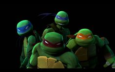 Teenage Mutant Ninja Turtles - Leonardo, Raphael, Michelangelo and Donatello