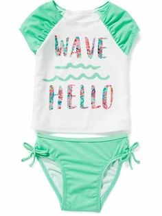 Old Navy has adorable toddler girls' clothes. Shop today to find cute little girl clothes for play, outings and photos. Cute Baby Girl, Cute Little Girls, Cute Babies, Toddler Girl Outfits, Toddler Fashion, Girls Clothes Shops, Kids Swimwear, Everything Baby, Kids Girls