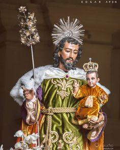 SAN JOSÉ bendito guardián de la Sagrada Familiafotografia holly week semana santa guatemala cuaresma procesiones adorno incienso corozo tradiciones