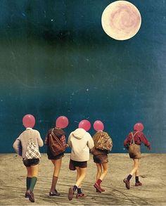Surreal collage art from Taiwanese artist Collages, Surreal Collage, Surreal Art, Art And Illustration, Collage Illustrations, Psychedelic Art, Collage Foto, Street Art, Kunst Online