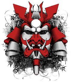 Samurai Mask of Doom by BurningEyeStudios on deviantART