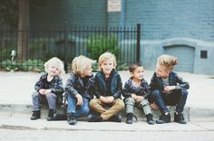 kinda just want a gaggle of boys so I can dress them in leather jackets and style their hair in hipster pompadours