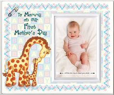 Amazon.com - To Mommy on Our First Mother's Day - Picture Frame Gift - Childrens Frames