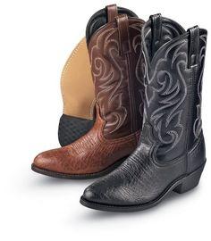 "Awesome Laredo Men's Basic principles twelve"" Cowboy Boots"