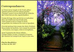 Correspondances by Charles Baudelaire