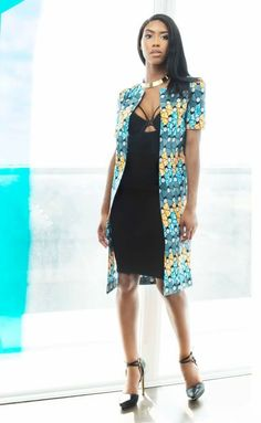 So scroll back up take a good look at this 8 fabulous contemporary Ankara style inspirations for your everyday wear. African Dresses For Women, African Print Dresses, African Print Fashion, Africa Fashion, African Attire, African Wear, Fashion Prints, African Prints, African Women