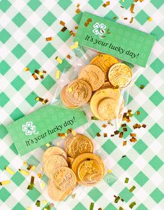 St Patty's Day- chocolate coins