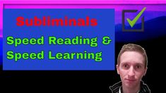 Here is a video about for fast reading and learning. It can help you when you want to emprove this. Subliminal for Speed learning and speed reading! Reading Test, Speed Reading, Reading Music, Magnetic Resonance Imaging, Binaural Beats, Physics, Affirmations, Therapy, Medical