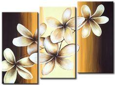 Olieverf schilderij Witte bloesem