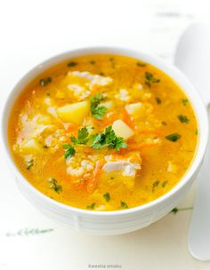 Krupnik jaglany Gout Recipes, Baby Food Recipes, Indian Food Recipes, Dinner Recipes, Healthy Recipes, I Love Food, Good Food, Frugal Meals, Healthy Soup