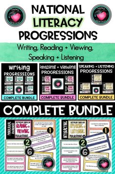 National LITERACY PROGRESSIONS Complete BundleAustralian Curriculum Writing Resources, Teaching Resources, Teaching Ideas, Persuasive Writing, Paragraph Writing, Opinion Writing, Writing Rubrics, Narrative Writing, Visible Learning
