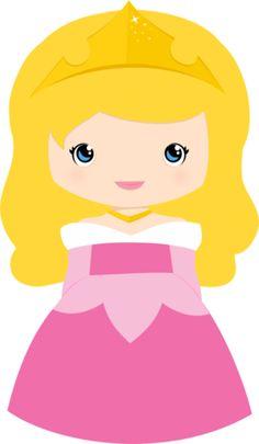 Bella Durmiente Princesas disney Cutes - Minus