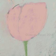 Dessin, fleur minimaliste, pastel, crayon, rose pâle, vert, oeuvre unique, impression d'art, tirage édition limitée, signée numérotée Mauve, Pastel Crayons, Bouquet, Art Floral, Unique, Impressionist Art, Impressionism, Pale Pink, Throw Pillows