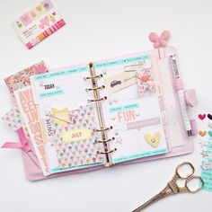Planner Ideas and Journaling ❤ Picture of Planner Week Twenty-Eight