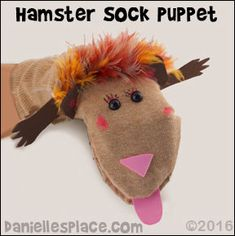 How to Make Sock Puppets, Canvas Puppets, Paper Bag Puppets, Stick Puppets, and Hand Puppets Glove Puppets, Sock Puppets, Hand Puppets, Finger Puppets, Animal Crafts For Kids, Art For Kids, How To Make Socks, Early Childhood Activities, Paper Bag Puppets