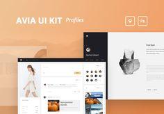 UI8 — Products — Avia UI Kit: Profiles