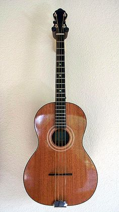 Fletcher Tenortone guitar?  Nice!