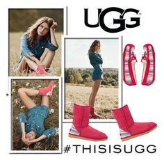 """This Is UGG"" by pink1princess ❤ liked on Polyvore featuring UGG Australia"