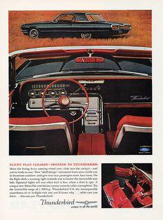1964 Ford Thunderbird Hardtop and Interior