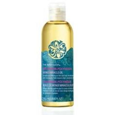 Body Shop Monoi Oil.  Oils are what are hair and skin needs.  Good job - 'The Body Shop""