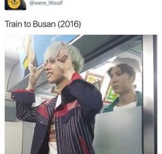 I FREAKIN LOVE TRAIN TO BUSAN! CANT WAIT FOR THE PREQUEL TO COME OUT!! (Leo gotta chill tho lmao)