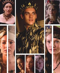 The tudors------ King Henry with his Children and his six wives,,,, D.H.
