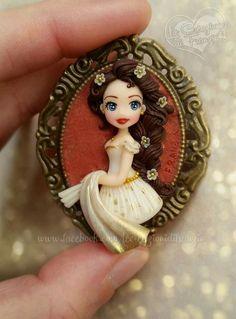 #princess #sissi #principessasissi #clay #polymerclay #fimo #collana #jewerly #handmade #lecreazionidifranzin