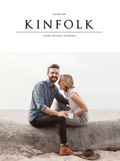 kinfolk cover | cute couple | great style [engagement idea?]