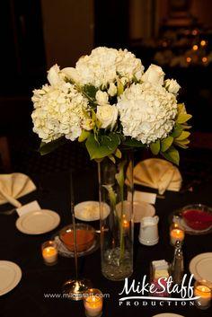 #wedding reception decorations #centerpieces #tablescapes #reception details #Michigan wedding #Mike Staff Productions #wedding details #wedding photography