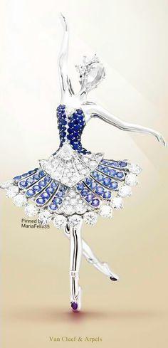 Van Cleef & Arpels Ballerina Brooch