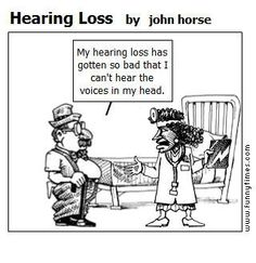 LOL. Common miscommunications from hearing loss can often