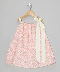 {Pink Wallflower Dress - Toddler & Girls by Nain and Joe}