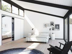 // Image from designa dk Architecture Board, Retro Futuristic, Oversized Mirror, Interior Design, Bedroom, House, Inspiration, Furniture, Home Decor