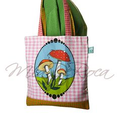 Toadstool Shoulderbag Melisande - MiaDeRoca Shops, Diaper Bag, Reusable Tote Bags, Shoulder Bag, Products, Tents, Diaper Bags, Shoulder Bags, Retail